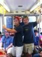 Train ride in Chicago