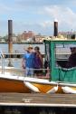 Arrival into Boston Harbor